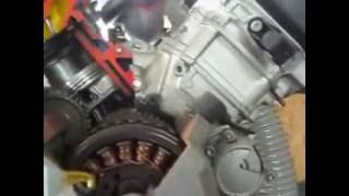 4. BRP V 1000 Cutaway engine