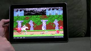 MAME4droid (0.37b5) YouTube video