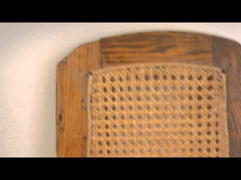 HOW TO : Repair Cane Bottom Chairs