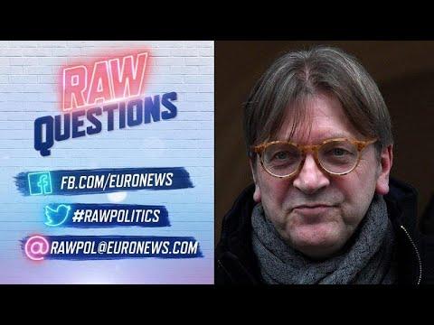 Ο Γκι Φέρχοφστατ στο euronews