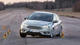 Ford Focus 2015 älgtest