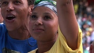 South Africans celebrate Mandela's life in song