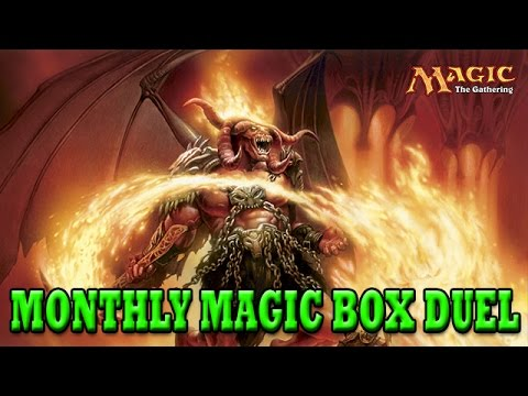 monthly - Subscribe to this shiz: http://bit.ly/12cB2QV Hey guys! I finally made a video again. The people at monthlymagicbox.com were nice enough to send me a box. I see what's inside, and then challenge...