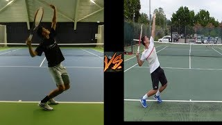 MAKE SURE TO SHARE WITH YOUR FRIENDS!!!This is a new series on my channel called ultimate touch tennis warrior where I go head to head against top tennis training in a touch game up to 5 in the box. Every battle between us brings new excitement so stay tuned. One episode should be coming out every week FOLLOW ME ON SOCIAL MEDIA!!!http://www.instagram.com/thetennisdream/http://www.facebook.com/thetennisdream/