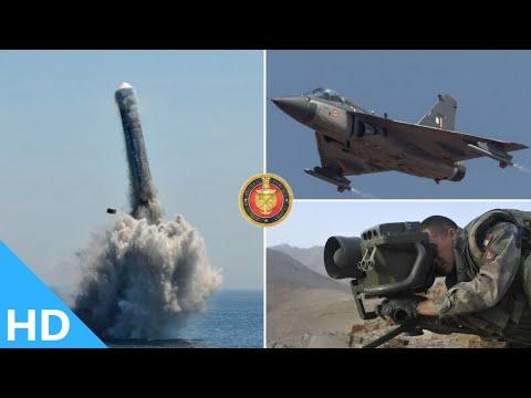 Indian Defence Updates : 3400 Km K4 SLBM Test,Spike ATGM Probe,194 Garud Trainers,83 Tejas MK1A Deal