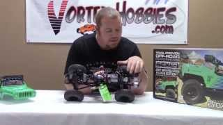 10. Axial SCX10 Jeep Wrangler G6 Falken - Box Opening - Vortex Hobbies