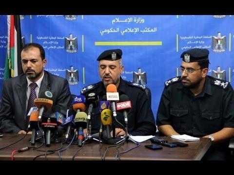 مؤتمر صحفي للشرطة الفلسطينية كشف تفاصيل جريمة مقتل آمين شراب