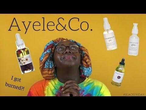AYELE & CO REVIEW ∣ BLACK FRIDAY ∣ AYSIA B.
