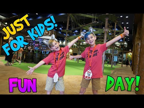 Taking A Vacation From Our Vacation! Family Road Trip Vlog 6 (FUNhouse Family)