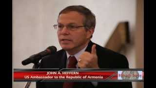 US Ambassador John A. Heffern's meeting with Armenian Diaspora in NY