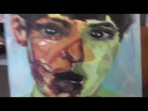 jenny saville copy speed painting