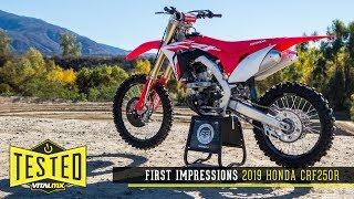 1. First Impressions: 2019 Honda CRF250R