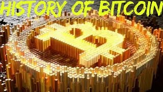 Bitcoin History: The Complete History of Bitcoin Part 8  http://www.financial-spread-betting.com/academy/bitcoin.html PLEASE LIKE AND SHARE THIS VIDEO SO WE CAN DO MORE!A Brief History of Bitcoin (2009-11).  Switch to HD 720p High Resolution in the settings to see the chart timeline table.- (3rd Jan 2009) Genesis block – the first block on the blockchain is mined- (Feb 2010) First Bitcoin exchange began trading- (May 2010) A Florida programmer called Laszlo Hanyecz bought a pizza for 10,000 Bitcoins (BTC)- (Feb 2011) 5.25 million BTC – a quarter of eventual supply had been mined- (April 2011) Silk Road – A website by which you could buy / sell drugs using BTC as paymentBitcoin price chart (up to 2014)- (Jan 2013) Cyprus in economic crisis:- European Union announced bail ins - anyone with deposits above €100,000 would have 47.5 % of their money taken away!!- A lot of Russian money fled European banks – BTC was used to escape capital controls- (Oct 2013) Richard Branson's Virgin Galactic accepts BTC as payment- (Nov 2013) The University of Nicosia announced that it would be accepting bitcoin as payment for tuition fees- (Nov 2013) Bitcoin became worth the price of an ounce of gold- (Feb 2014) Tokyo BTC exchange Mt Gox (trading approx. 70% of all BTC) declares bankruptcy after hack where 850,000 BTC ($473 million USD) was stolen- (Aug 2014)The UK's Chancellor of the Exchequer, George Osborne, demonstrates his and HM Treasury's positive outlook on bitcoin when he purchases £20 worth of bitcoin and announces HM Treasury's call for information on digital currenciesBitcoin price chart (2015)- In January 2015 Coinbase raised 75 million USD as part of a Series C funding round, smashing the previous record for a bitcoin company.- In March 2015 21 LLC announced it had raised 116 million USD in venture capital funding, the largest amount for any digital currency-related companies.- As of August 2015 it was estimated that 160,000 merchants accept bitcoin paymentsA Brief History 