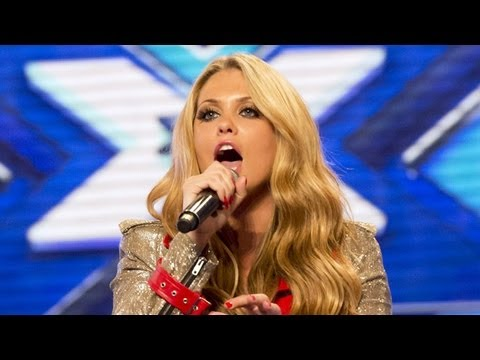 Bianca Gascoigne's Audition - Mary J Blige's I'm Going Down - The X Factor UK 2012