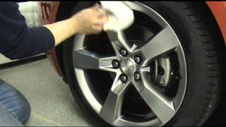 Auto Trim DESIGN. Installation video assists in the installation of precut Wheel Decals. Kit illustrated in this video: Chevrolet Camaro Wheel Graphic Kit 2,...