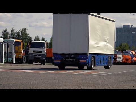Бескабинный беспилотник-электромобиль КАМАЗ-3373 Челнок — обзор от разработчиков