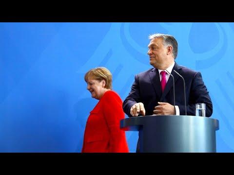 Treffen mit Merkel: Ungarn möchte keine Flüchtlinge zur ...