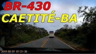 4. #13-VIAGEM SP/BAHIA MAIO 2019 BR-430 SA�DA DO HOTEL CAETITÉ