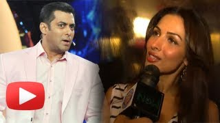 Malaika Arora Khan Watches Salman Khan's Bigg Boss 7 - Exclusive