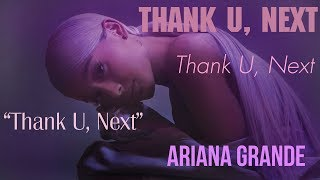 Video [Vietsub] thank u, next - Ariana Grande MP3, 3GP, MP4, WEBM, AVI, FLV Januari 2019