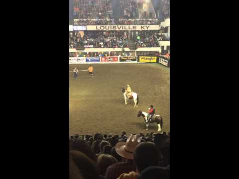 North American Championship Rodeo: Trick Riding – The Pony Express