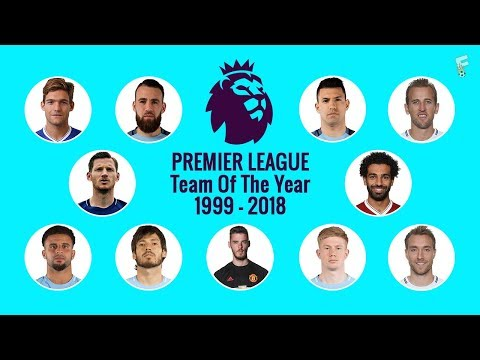 Premier League Team Of The Years 1999 - 2018 ⚽ Footchampion