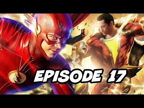 The Flash Season 5 Episode 17 - Shazam Easter Eggs and References Breakdown