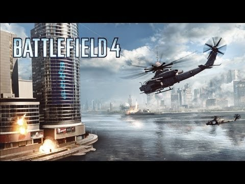 multiplayer - Witness the glorious chaos of 64 players waging all-out war in the Battlefield 4