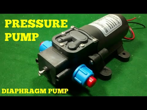 REVIEW OF MY PRESSURE WATER PUMP , POWERFUL MICRO DIAPHRAGM PUMP .