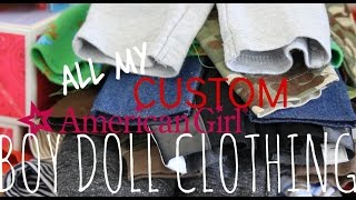 American Boy Doll Clothing Collection!