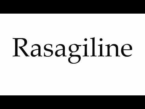How to Pronounce Rasagiline