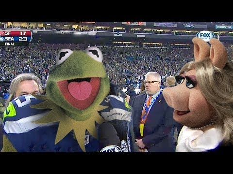 Kermit The Frog Does His Richard Sherman Impression