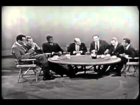 Civil Rights Round Table with Marlon Brando