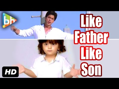 AbRam Khan Imitates His Father Shah Rukh Khan