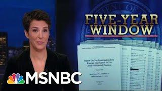 Video Robert Mueller Report: Outline For Prosecution   Rachel Maddow   MSNBC MP3, 3GP, MP4, WEBM, AVI, FLV Juni 2019
