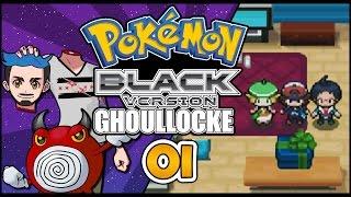 Pokémon Black Randomizer Ghoullocke Part 01 | CHOOSE MY SPOOPY STARTER! by Ace Trainer Liam