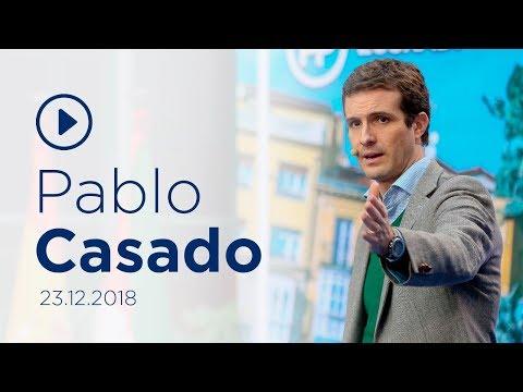 """Casado: """"Pedro Sánchez está haciendo del Estado un títere de los independentistas"""""""