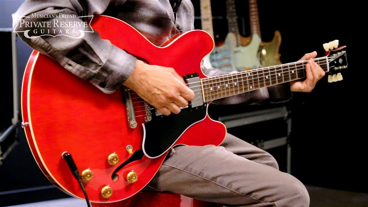 Gibson Custom Semi-Hollow Aged '59 ES-335 Electric Guitar