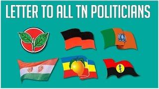 Letter to all our politicians |  Settai Night Show Promo  | Smile Settai | Republic Tv Spoof