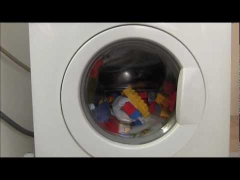 Lego-Steine in der Waschmaschine