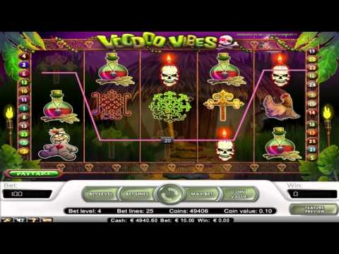 FREE Voodoo Vibes ™ slot machine game preview by Slotozilla.com