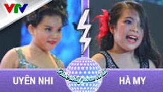 HÀ MY vs UYÊN NHI| VÒNG ĐỐI ĐẦU | TẬP 6 | BƯỚC NHẢY HOÀN VŨ NHÍ 2015 (SEASON 2), buoc nhay hoan vu nhi, buoc nhay hoan vu nhi 2015, game show vtv