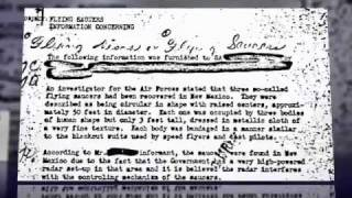 The FBI Vault Case Files Now Online. Evidence For Roswell UFO Crash
