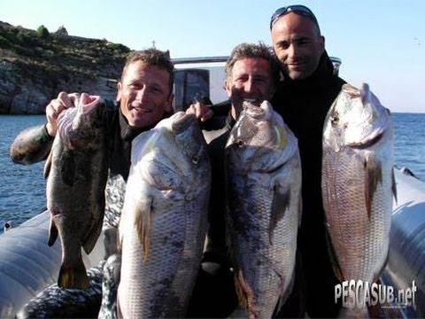 A pesca di dentici con Umberto Pelizzari del 20.07.2012
