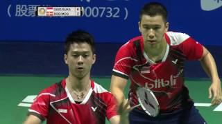 Video Thaihot China Open 2016 | Badminton F M3-MD | Gid/Suk vs Boe/Mog MP3, 3GP, MP4, WEBM, AVI, FLV November 2018