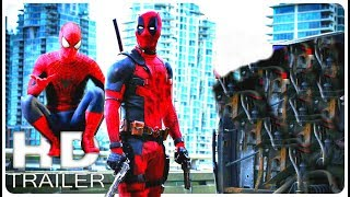 DEADPOOL 2 New Teaser Trailer with Spider-Man 2k19