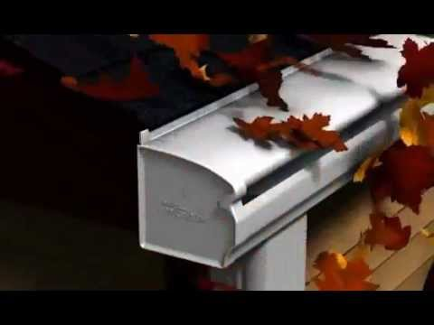 LeafGuard Gutters come with a clog-free guarantee which mean you never have to climb ladders to clean out...