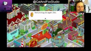 "Thanks for Joining Cat and Fox for another gaming Lets Play! ^_^Simpsons Tapped Out! Lvl 56 continues, Thanking new subscribers,  thanking neighborinos, unlocking more dailies and more... ^_^The Simpsons Tapped Out popular Forums: http://tstoaddicts.com/http://tstoforum.com/http://forum.ea.com/eaforum/forums/show/4127.page (Finding friends forum)50% of all proceeds go to the ""No Trans Left Behind"" non-for-profit,Thank you very much, a virtual musical hugs if you have donated:https://www.paypal.com/cgi-bin/webscr?cmd=_s-xclick&hosted_button_id=48QLEPMQM2PU8don't be afraid to LIKE: http://facebook.comor SUBSCRIBE: http://youtube.com/CatAndFoxStudioor TWEET me: @CatAndFoxStudioor have some non-gaming fun on my other channels:http://youtube.com/TheJennaFoxor my tech shows at http://youtube.com/TWIRtv"
