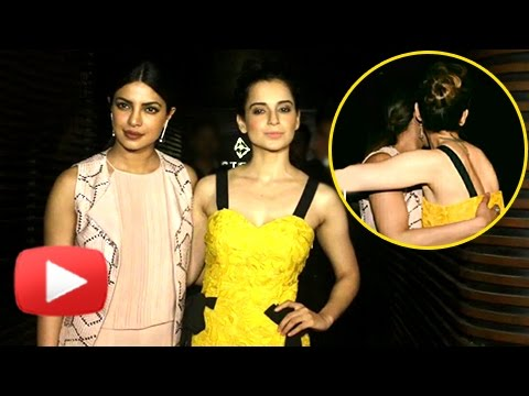 Priyanka Chopra Welcomes Kangana Ranaut At Her Par