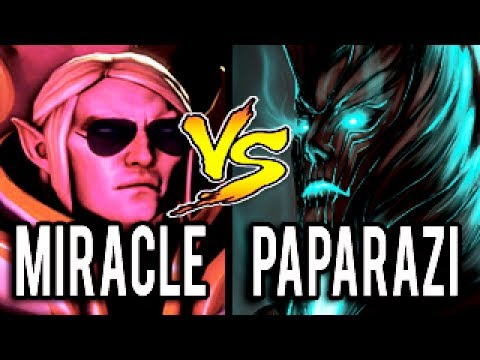 Miracle- [Invoker] vs Paparazi [Terrorblade] ► 10k MMR BATTLE - Dota 2